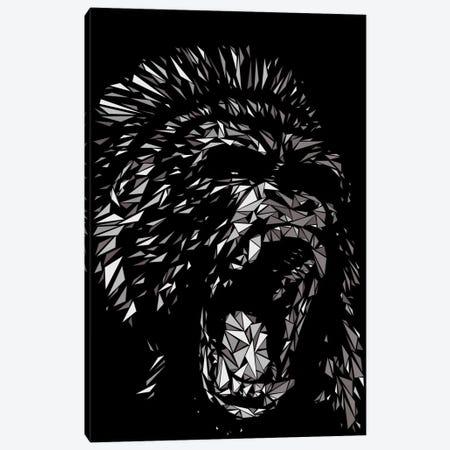 Gorilla Canvas Print #MIE30} by Cristian Mielu Canvas Art