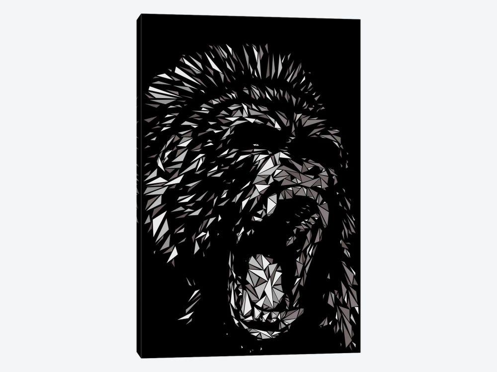 Gorilla by Cristian Mielu 1-piece Canvas Art Print