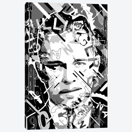 Dillinger Canvas Print #MIE316} by Cristian Mielu Canvas Art Print