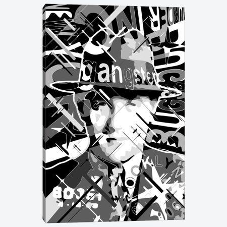Bugsy Siegel Canvas Print #MIE333} by Cristian Mielu Canvas Artwork