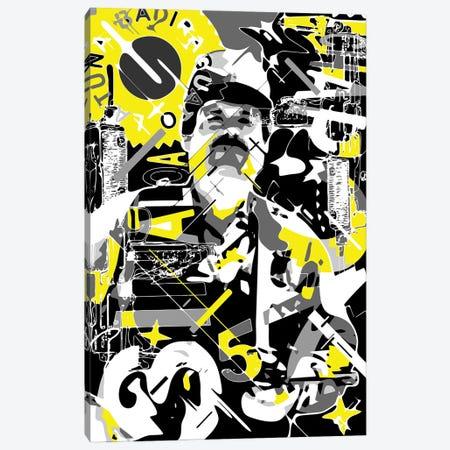 El Chapo Canvas Print #MIE336} by Cristian Mielu Canvas Art Print