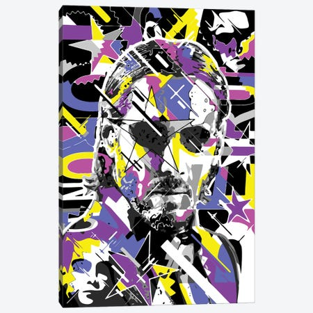 Keanu Canvas Print #MIE338} by Cristian Mielu Canvas Artwork