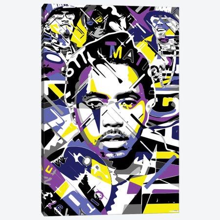 Nas Canvas Print #MIE341} by Cristian Mielu Art Print