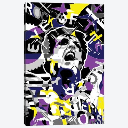 Rocky Canvas Print #MIE345} by Cristian Mielu Canvas Wall Art