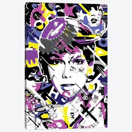 Taylor Swift Canvas Print #MIE346} by Cristian Mielu Canvas Wall Art