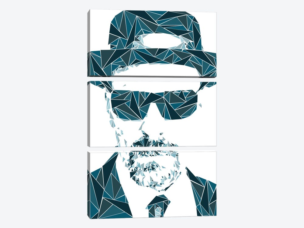 Heisenberg I by Cristian Mielu 3-piece Canvas Print