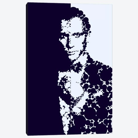 James Bond Canvas Print #MIE35} by Cristian Mielu Canvas Art Print