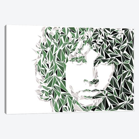 Jim Morrison Canvas Print #MIE37} by Cristian Mielu Canvas Print
