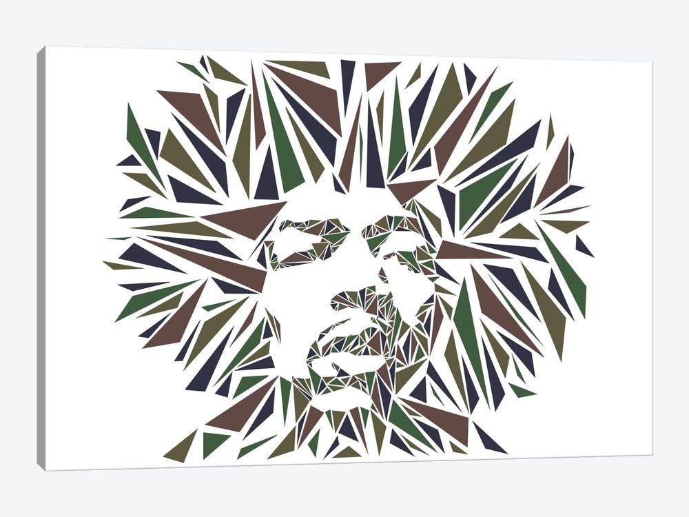 Jimi Hendrix I by Cristian Mielu 1-piece Canvas Print