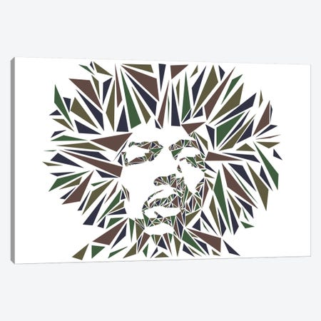 Jimi Hendrix I Canvas Print #MIE38} by Cristian Mielu Canvas Art