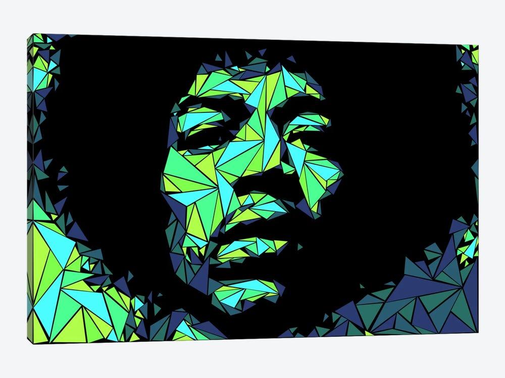 Jimi Hendrix II by Cristian Mielu 1-piece Canvas Artwork