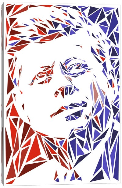 John F. Kennedy Canvas Print #MIE40