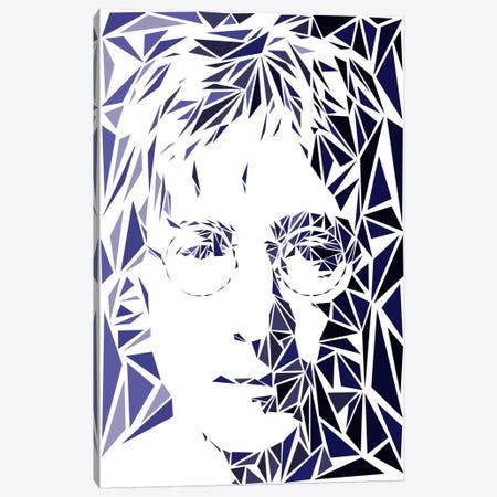 John Lennon 3-Piece Canvas #MIE41} by Cristian Mielu Canvas Print