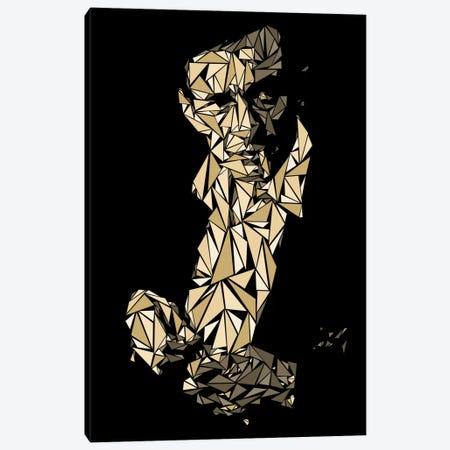 Johnny Cash Canvas Print #MIE42} by Cristian Mielu Canvas Art Print