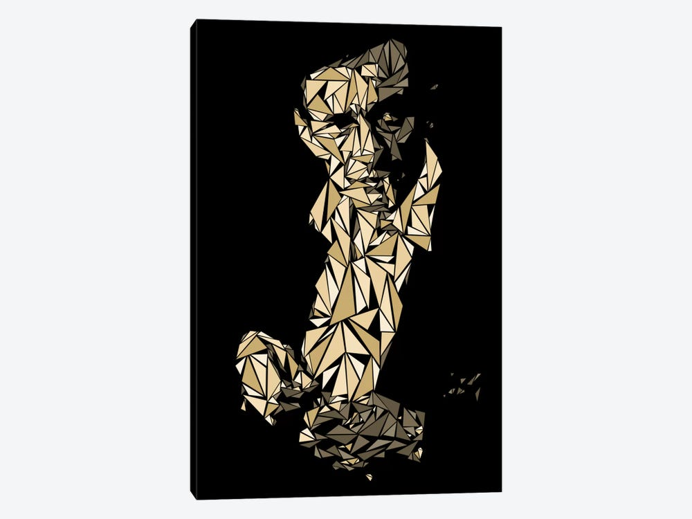 Johnny Cash Canvas Wall Art by Cristian Mielu | iCanvas