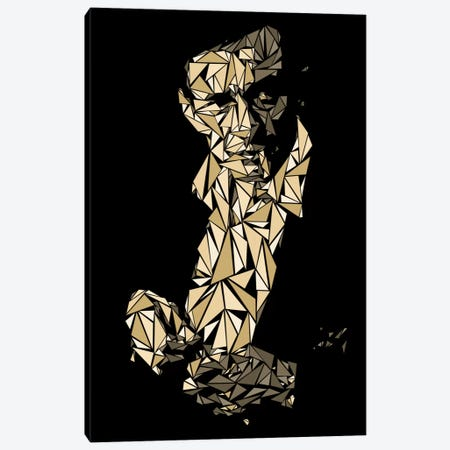 Johnny Cash Canvas Print #MIE42} by Cristian Mielu Canvas Art Print