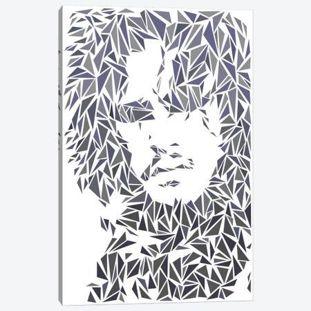 Jon Snow Canvas Print #MIE43} by Cristian Mielu Canvas Print