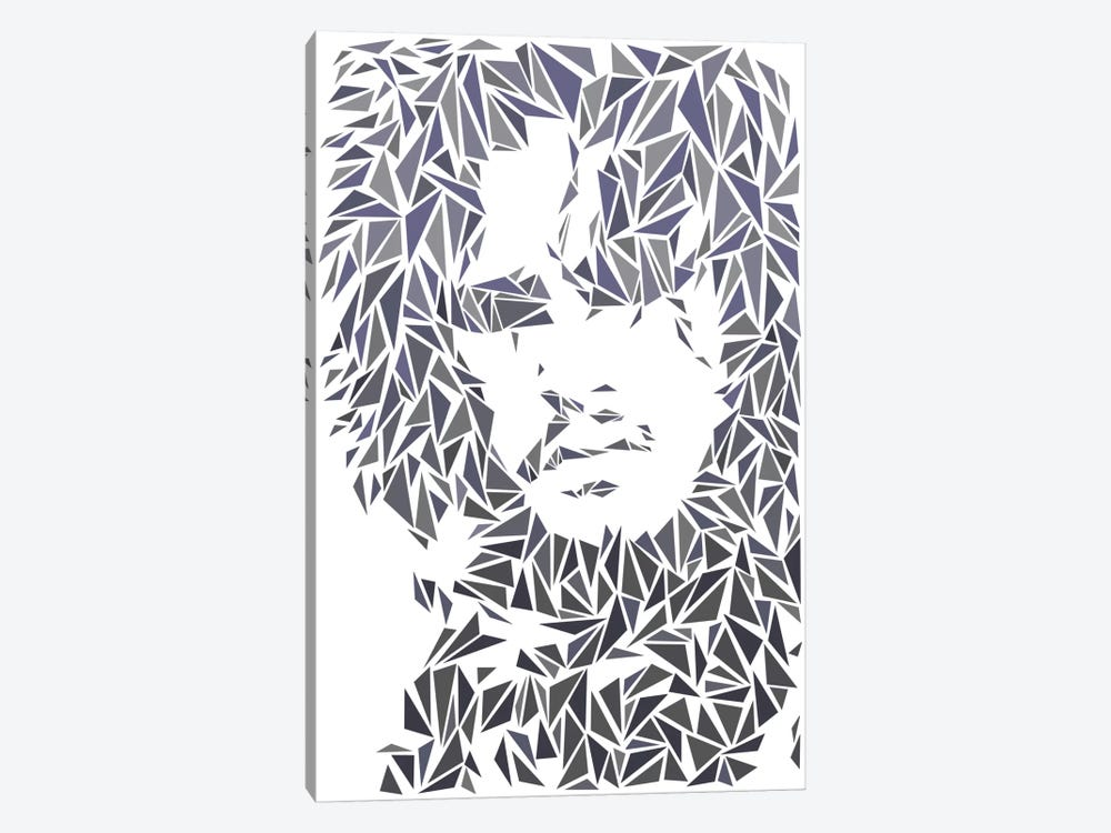 Jon Snow by Cristian Mielu 1-piece Canvas Art Print