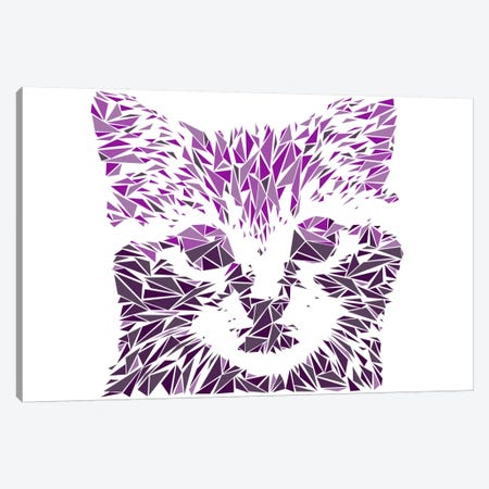 Kitten Canvas Print #MIE44} by Cristian Mielu Canvas Art