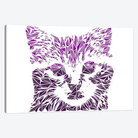 Kitten Canvas Print #MIE44} by Cristian Mielu Canvas Art