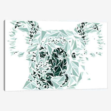 Koala Canvas Print #MIE45} by Cristian Mielu Canvas Art
