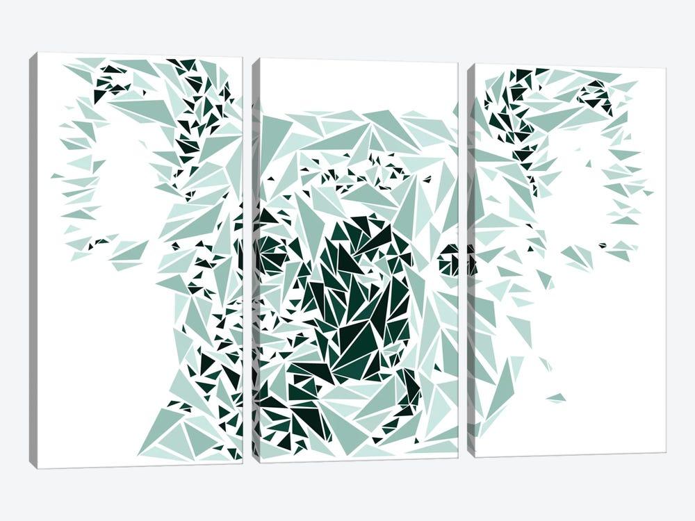 Koala by Cristian Mielu 3-piece Art Print