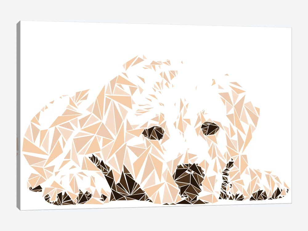 Labrador Puppy by Cristian Mielu 1-piece Canvas Artwork
