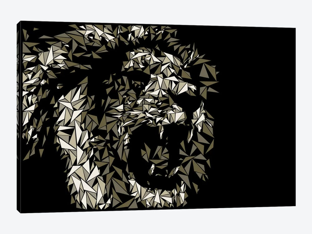 Lion by Cristian Mielu 1-piece Canvas Print