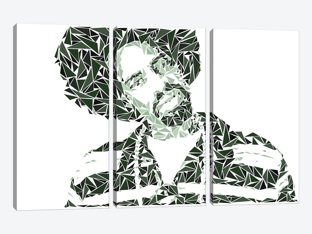 Mac Dre by Cristian Mielu 3-piece Canvas Artwork