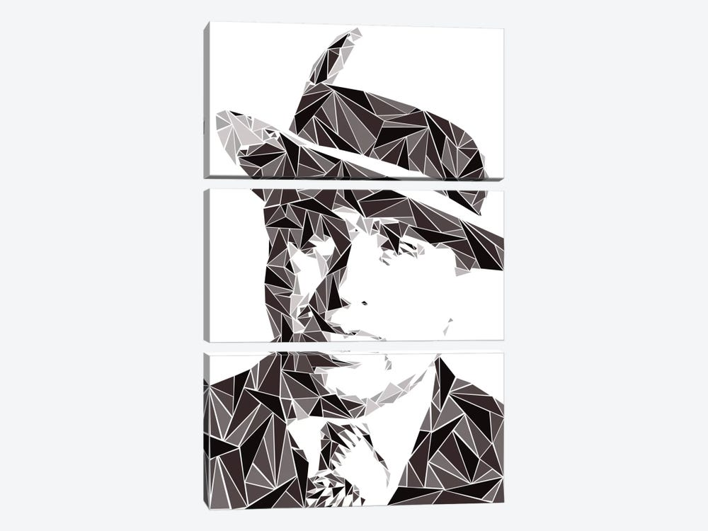 Al Capone I by Cristian Mielu 3-piece Canvas Print