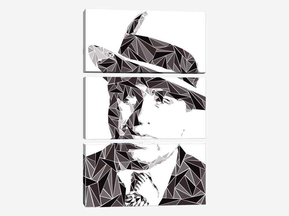 Al Capone I by Cristian Mielu 3-piece Canvas Print
