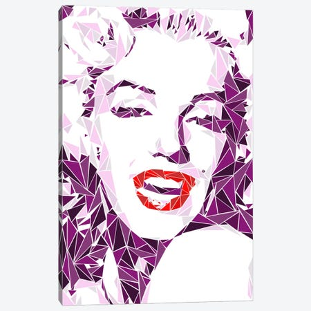 Marilyn Monroe I Canvas Print #MIE50} by Cristian Mielu Canvas Artwork