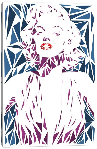 Marilyn Monroe II Canvas Print #MIE51