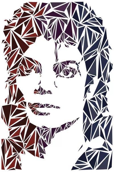 Michael Jackson Canvas Wall Art by Cristian Mielu | iCanvas