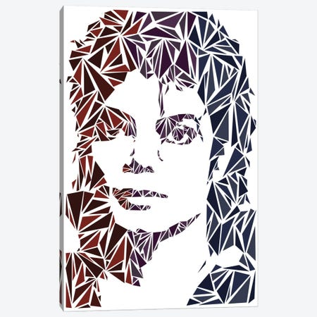 Michael Jackson Canvas Print #MIE52} by Cristian Mielu Canvas Art