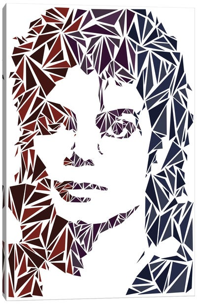 Michael Jackson Canvas Print #MIE52