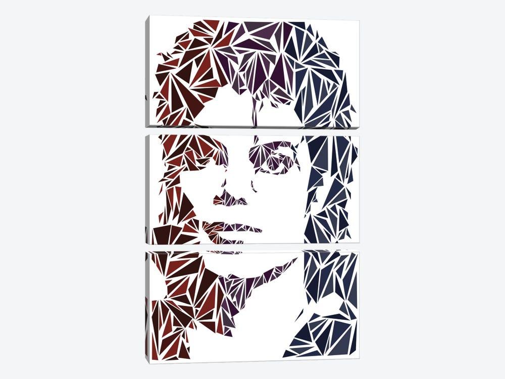 Michael Jackson by Cristian Mielu 3-piece Art Print