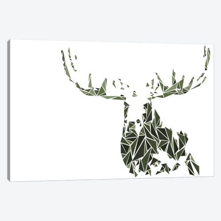 Moose Canvas Print #MIE53} by Cristian Mielu Canvas Art