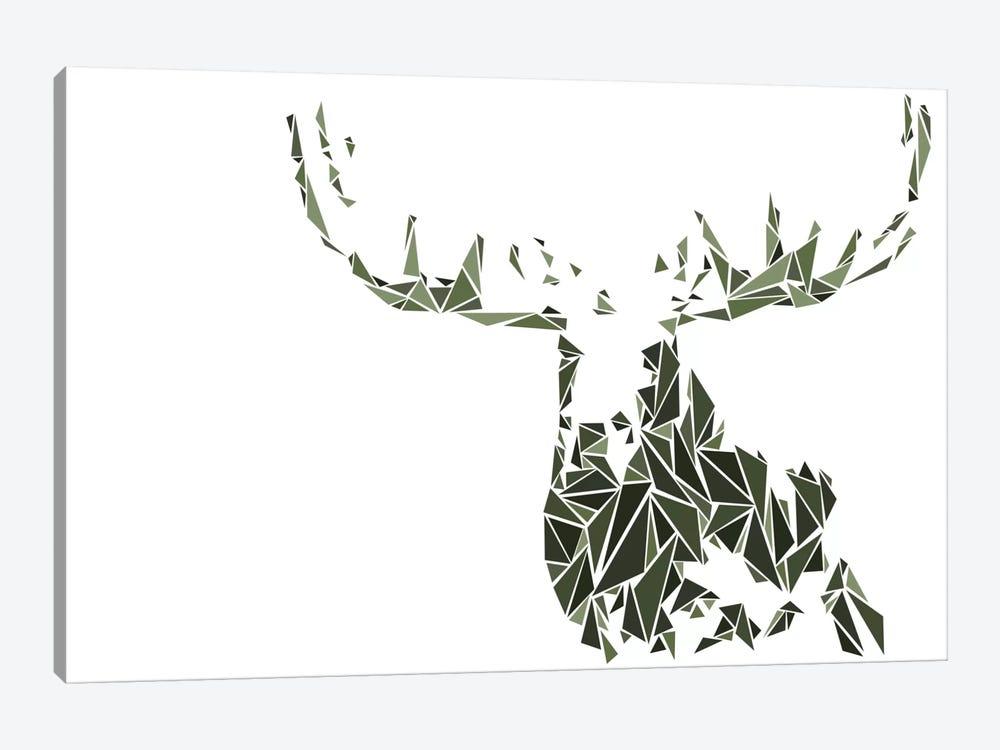 Moose by Cristian Mielu 1-piece Canvas Art