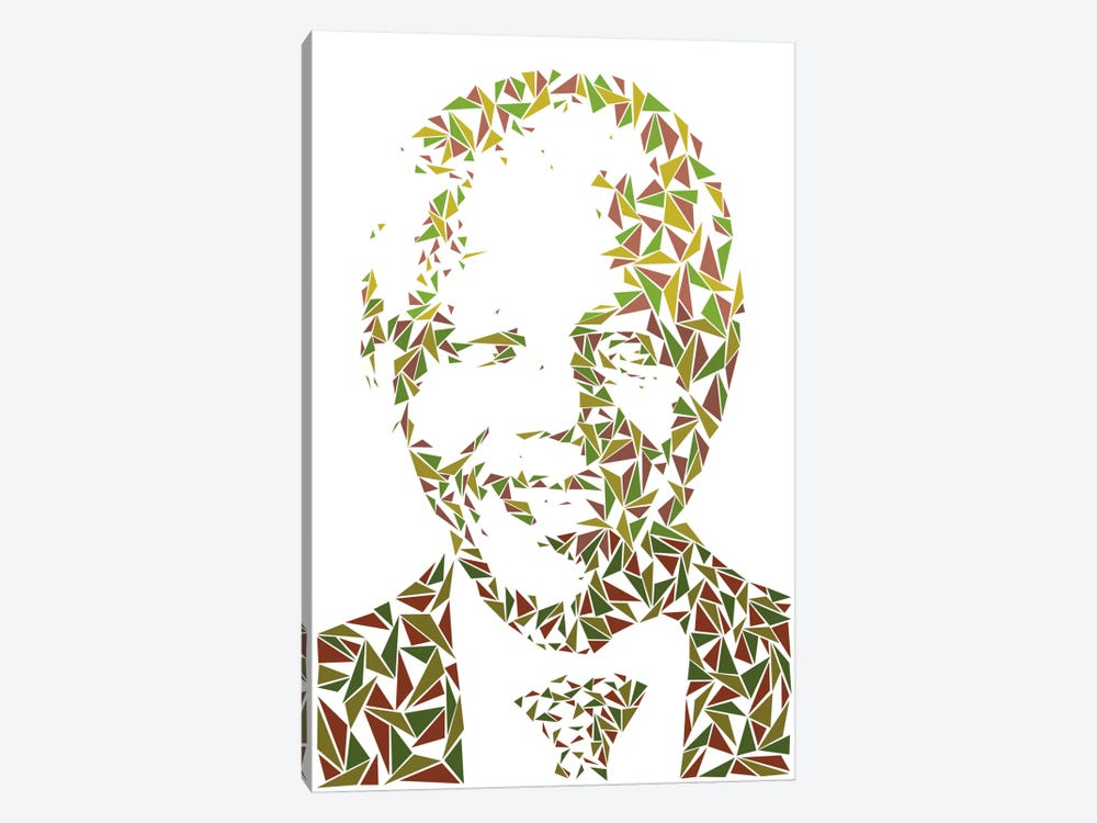 Nelson Mandela 1-piece Canvas Print