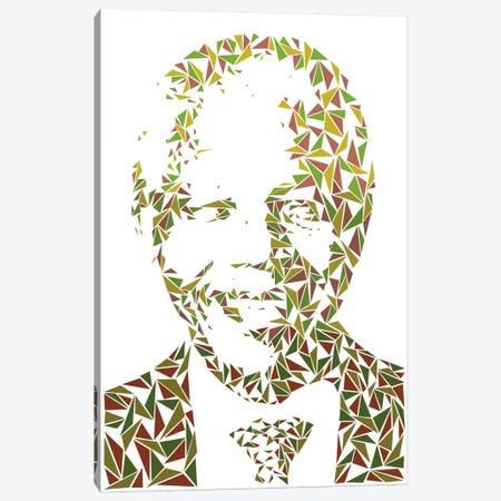Nelson Mandela Canvas Print #MIE54} by Cristian Mielu Canvas Print