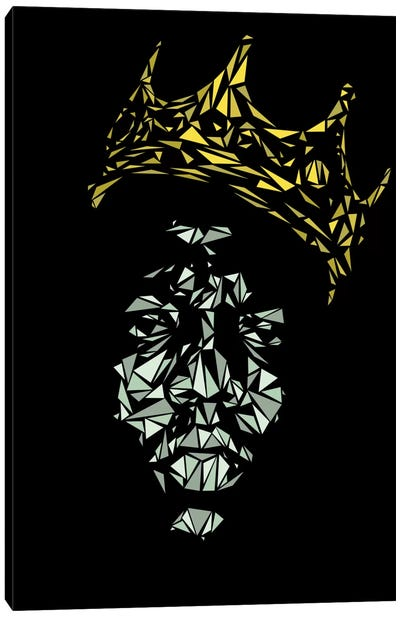 Notorious B.I.G. Canvas Print #MIE56