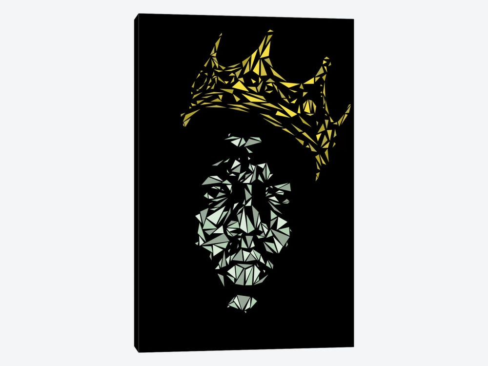 Notorious B.I.G. by Cristian Mielu 1-piece Canvas Art Print