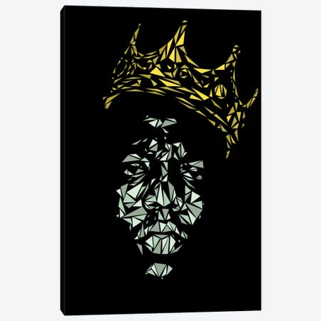 Notorious B.I.G. Canvas Print #MIE56} by Cristian Mielu Canvas Art Print