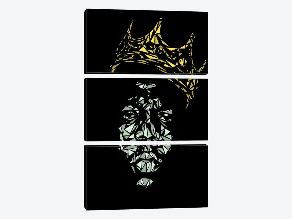 Notorious B.I.G. by Cristian Mielu 3-piece Art Print