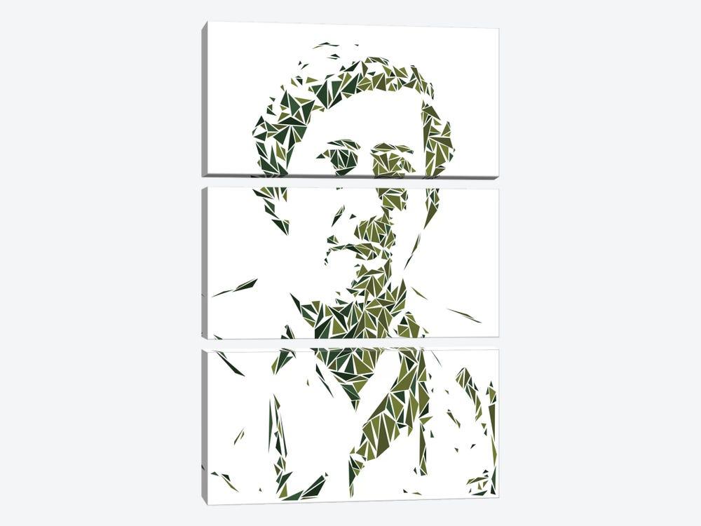 Pablo Escobar by Cristian Mielu 3-piece Art Print