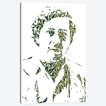 Pablo Escobar Canvas Print #MIE58} by Cristian Mielu Canvas Art