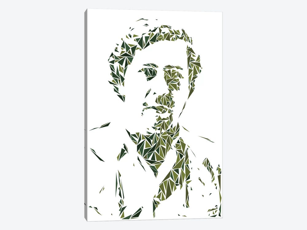 Pablo Escobar by Cristian Mielu 1-piece Canvas Print