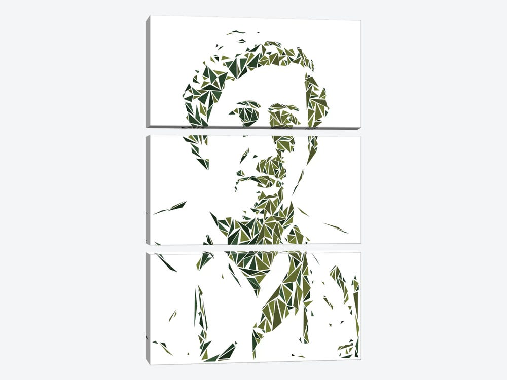 Pablo Escobar 3-piece Art Print