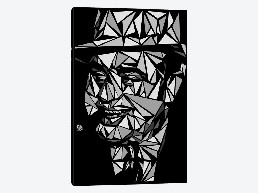 Al Capone II by Cristian Mielu 1-piece Canvas Artwork